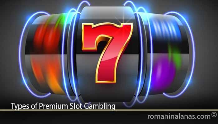 Types of Premium Slot Gambling
